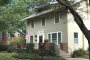 Karen and Chuck Warner have renovated their 1912 home on Massachussets Street.