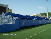 The Touchdown Club Seating, started in 2008, gives fans a new way to watch football at Memorial Stadium.