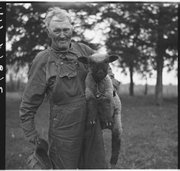 A farmer from Franklin County poses in May, 1936.
