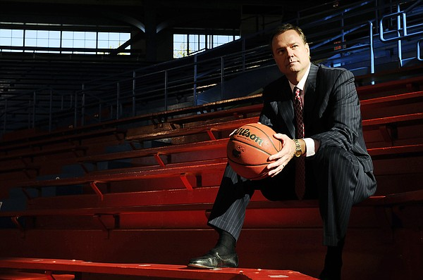 Kansas Head Coach Bill Self.