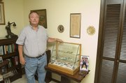 Bill Peak, of Tonganoxie, and his wife, Kathy, have visited presidential estates around the country, and have dedicated a room in their home to political memorabilia.