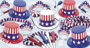 Party411.com has developed a Patriotic Kit For 25. People should be all too ready to celebrate after a tense, drawn-out campaign season. Unlike Congress, party planners can find ways to splurge on festivities without racking up a $700 billion bailout for one's budget. Finally, keep the celebrations as bipartisan as possible by inviting friends from both parties.