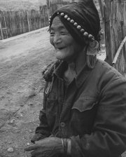 """Hani Woman,"" taken by KU student Stephanie Christenot in Yunnan, China."