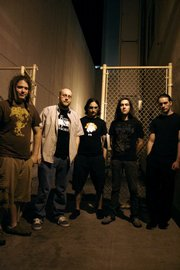 Hammerlord is (L to R):  J.P. Gaughan, Ty Scott, Terry Taylor, Stevie Cruz and Lord Adam Mitchell