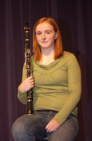 Katie McKeirnan is one of four finalists vying for the opportunity to play with the U.S. Air Force Band. The De Soto High School sophomore  will travel to Washington, D.C., next week to audition for the seat.