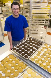 Owner Michael Neth opened Eileen's Colossal Cookies earlier this month.