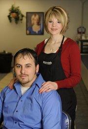 Angela and Brett Folks.