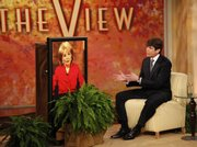"In this image released by ABC, Illinois Gov. Rod Blagojevich speaks during an interview with Barbara Walters Monday, Jan. 26, 2009 on ""The View.""  The Illinois Senate has convened a historic impeachment trial  Monday that will determine whether Gov. Rod Blagojevich is removed from office. Blagojevich is refusing to take part in the trial. He says its rules are so biased that he can&squot;t present a defense."
