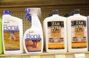 Bona Floor Refinisher and Zar Floor Rejuvenator are two of the floor refinishing options available today.