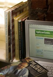 Even as more recipes move online, there's an intrinsic value to working from the hard copy of a cookbook.