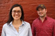 Jacinta Langford and Jesse Sevier of the Lawrence social media marketing firm, LangfordSevier.