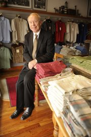 Joe Flannery is president of Weaver's department store, 901 Mass., a longtime fixture in downtown Lawrence.