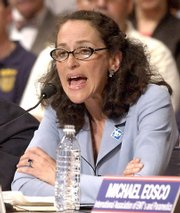 Dr. Margaret Hamburg, shown in this 2004 file photo, is President Barack Obama's choice to head the Food and Drug Administration. She is a bioterrorism expert and a proven manager, having helped turn around New York City's ailing health department.