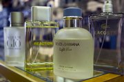 Some popular men's fragrances at Weaver's, 901 Mass., include Kenneth Cole's Reaction and Dolce & Gabbana's Light Blue.