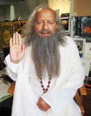 Guru Yogi Ramesh, aka the Laughing Yogi, claims he's pleased to be featured in the Found Footage Festival.
