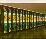 "The original Basketball Hall of Fame on the campus of Springfield College in Springfield, Mass., included a room called the ""Honors Court,"" where hall enshrinees were remembered with 10-foot high Lucite windows."