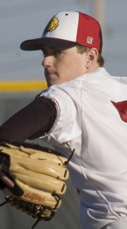 Lawrence High pitcher Andy Urban, who last year experienced severe mental blocks that inhibited his athletic performance, overpowered SM North batters with a no-hitter on Friday at Ice Field.