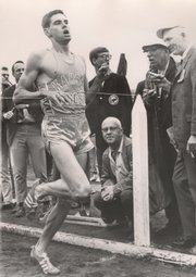 Former kansas runner jim ryun still holds the Kansas Relays record for the mile with a time of 3:54.7. Ryun will be on hand to watch the mile race Saturday.