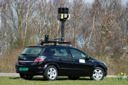 0An undated file photo made available by Google shows one of the company's street-mapping cars. A privacy watchdog has banned Google Inc. from gathering detailed, street-level images in Greece for a planned expansion of its panoramic Street View mapping service until the company provides additional privacy safeguards.