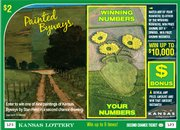 """Painted Byways"" is the latest scratch-off instant game from the Kansas Lottery, set to begin by this weekend. Each $2 ticket will include a scene from one of four Kansas Scenic Byways, as painted by Lawrence-based artist Stan Herd — and a chance to win one of Herd's original paintings."