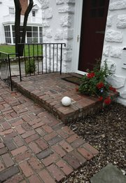 Attractive Brick Walkway Or Patio Mortar Joints Need To Be Almost Level With The Brick  Tops To