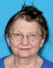Cora Pfannenstiel, 71, went missing from Kansas City on Monday was located at a Lawrence restaurant early Wednesday morning.