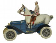 A moxie horsemobile, 8 1/2 inches long, sold in March at Bertoia Auctions of Vineland, N.J., for $5,750.