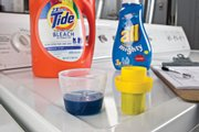 Consumer Reports found that Tide's clear cap and distinct fill lines make pouring the right amount easier than with many caps.