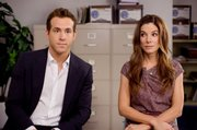 "Ryan Reynolds and Sandra Bullock star in ""The Proposal."""
