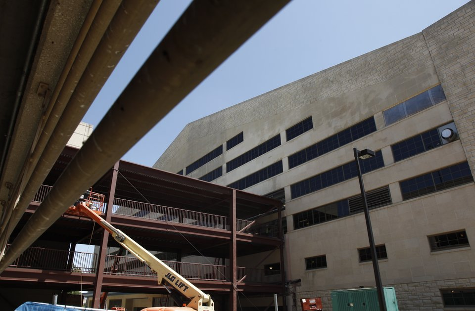 Renovation Work Continues At Allen Fieldhouse