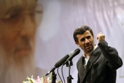Iranian President Mahmoud Ahmadinejad speaks during a ceremony of judiciary Saturday in Tehran, Iran, in this image issued by the semi-official Iranian Students News Agency.