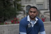 Wes Fine, who was injured in Iraq in 2005, is now pursuing his master's degree at Kansas University through a Army program called Wounded Warriors.
