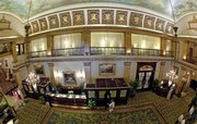 This is the lobby of the historic Pfister Hotel, in a photo taken Tuesday. Some say the upscale digs are haunted.