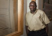 Jide Wintoki has been a Kansas University assistant professor of business for the past year. He is a native of Nigeria and worked around the world before coming to KU.