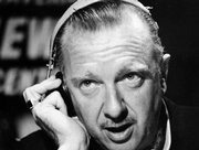 "CBS television newscaster Walter Cronkite is shown in this undated file photo provided by CBS. Cronkite, known as the ""most trusted man in America,""died Friday. He was 92."