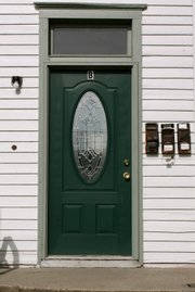 A fresh coat of paint on your front door can enhance both your mood and your property value.