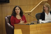 Veronica Jaeger testifies about the phone call she said she received from her brother's ex-girlfriend.