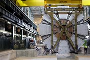 Part of the Large Hadron Collider is seen Feb. 29, 2008, at the European Organization for Nuclear Research, or CERN, underground facility in Meyrin, Switzerland. The world's largest scientific machine, built at a cost of $10 billion, has worked only nine days and has yet to smash an atom.