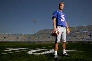 Kansas quarterback Todd Reesing.