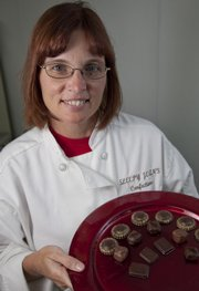 Jean Younger is a candy maker and owner of Sleepy Jean's Confections.