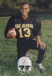 Darrell Stuckey at a young age.