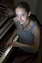 Breanna Ellison is a piano and french horn performance major. She is also one of two KU freshmen who won categories in the annual Sobriety Rocks! competition put together by the Kansas Department of Transportation.