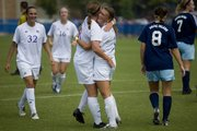 KU soccer defeated Rhode Island to improve to 5-0 in 2009.