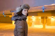 "Kate Beckinsale tries to solve a murder in Antarctica in ""Whiteout."""