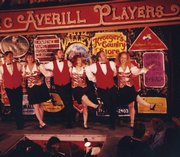 "The Averills lead the cast in the original ""Dangerous Damsels"" at the Apple Valley Farms Theatre in 1996."