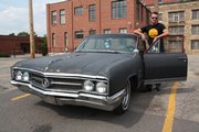 Robert Lunbom with his 1964 Buick Wildcat