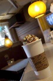 Java Break's Minty Hot Chocolate.