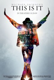 "This film publicity image released by Sony Pictures shows the movie poster for Michael Jackson's ""This is It"" film."