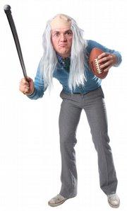 "Adam Vossen as ""Brett Farve."""