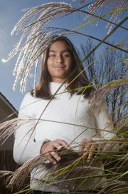 Prerona Kundu, 11, a student at Quail Run, was the USA/Canada winner of the biodiversity category in the See the Bigger Picture contest, sponsored by National Geographic and Airbus. She will have her photograph published in both National Geographic and National Geographic Kids.